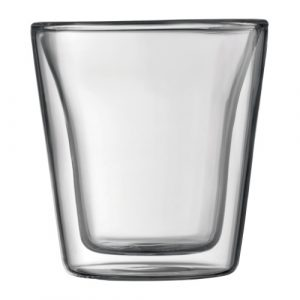 Bodum Canteen 6oz Glass 2pc