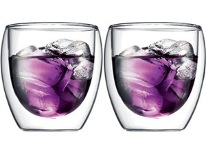 Bodum Pavina 8oz Glass 2pc