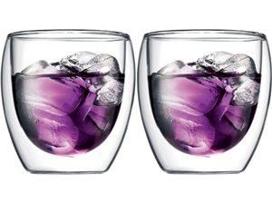Bodum Pavina 8oz Glass 2pc