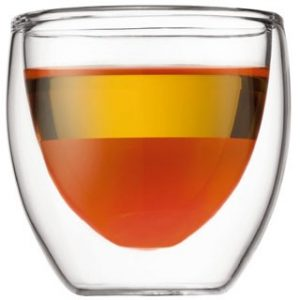 Bodum Pavina 2.5oz Glass 2pc