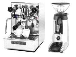 Expobar Office Minore IV & Compak K3 Touch