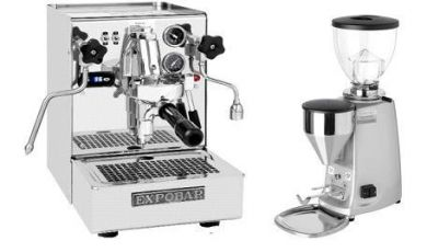 Expobar Office Minore IV & Mini Mazzer Electronic