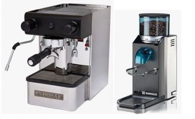 Expobar Office Semi Auto & Rancilio Rocky
