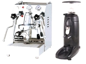 Isomac Tea Due & Compak K3 Push