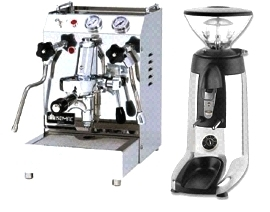 Isomac Tea Due & Compak K3 Touch