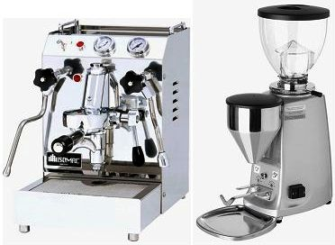 Isomac Tea Due & Mini Mazzer Electronic