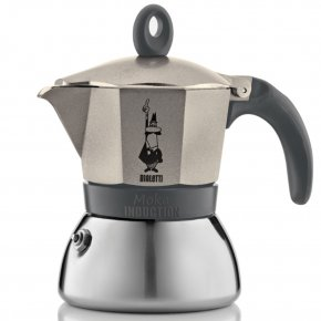 Bialetti Moka Induction Grey