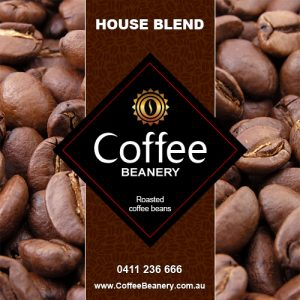 HOUSE BLEND COFFEE BEANS 250 GM