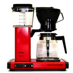 MOCCAMASTER CLASSIC RED