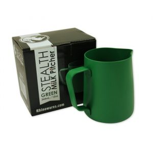 Rhinowares Stealth Milk Pitcher - 360ml/12oz - Green