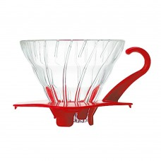 Hario V60 Glass Dripper 01-Red