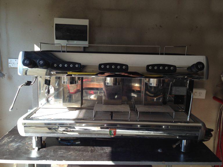 Pierro Silver 3 group Coffee Machine