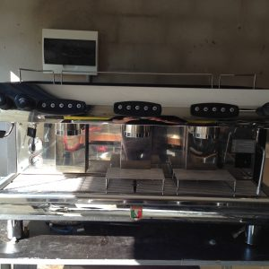 Coffee Machine Pierro Silver 3 group