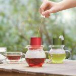 Hario Tea Hat Teabag Pot – White5